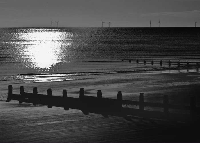 Frinton On Sea Greeting Card featuring the photograph Frinton-on-sea by Darren Burroughs