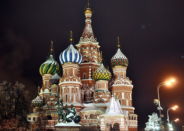 Russia Greeting Card featuring the photograph From Russia With Love by Kevin Askew