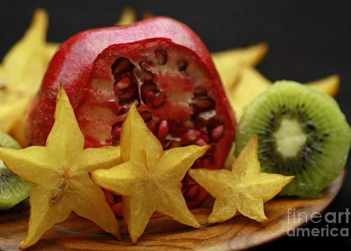 Fun With Fruit Greeting Card featuring the photograph Fun With Fruit by Inspired Nature Photography Fine Art Photography