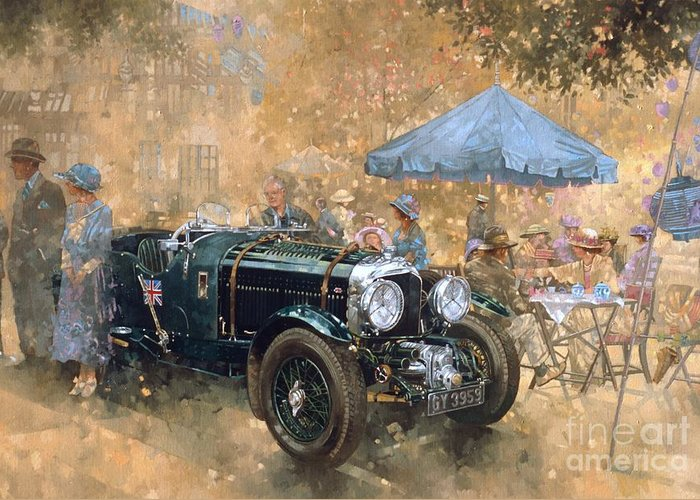Old Car Greeting Cards