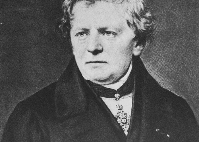 Georg Simon Ohm Greeting Card featuring the photograph Georg Ohm, German Physicist by Science Source