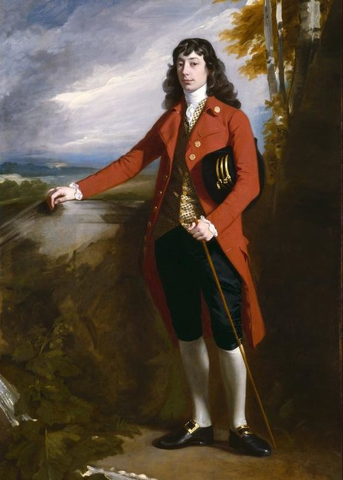 George Greeting Card featuring the painting George Boone Roupell by John Singleton Copley