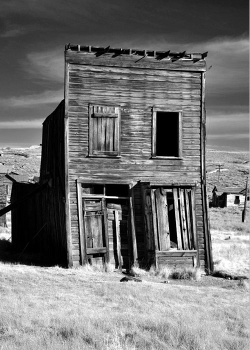 Bodie Greeting Card featuring the photograph Ghosts Of Bodie by Matt MacMillan