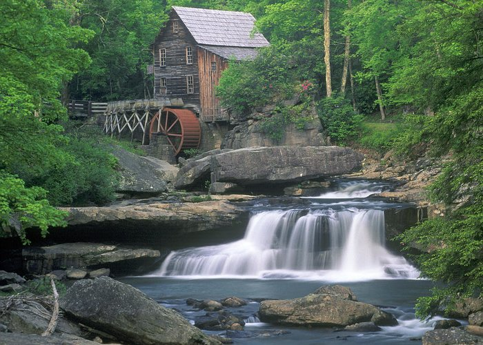 Mill Greeting Card featuring the photograph Gladie Mill by Fred Kirchhoff