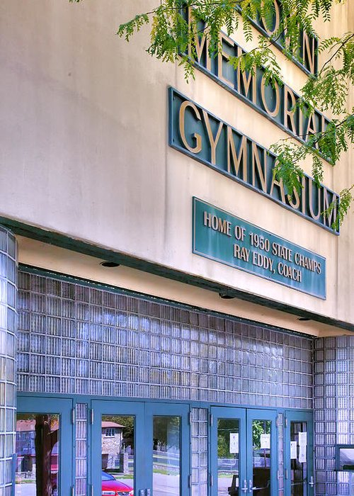 Gym Greeting Card featuring the photograph Glory Days by Steven Ainsworth