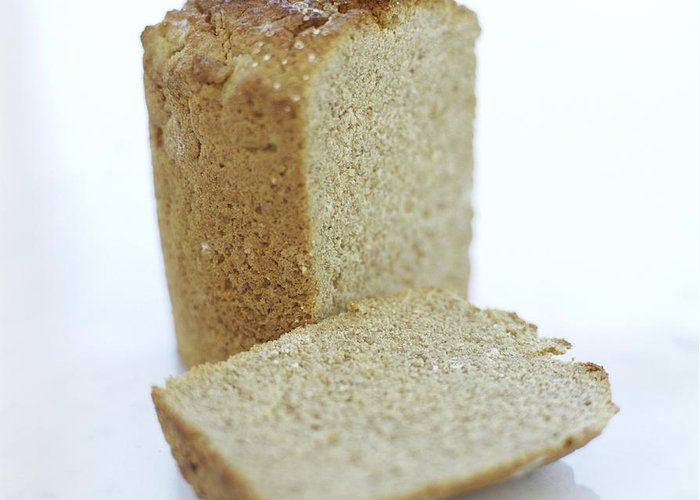 Bread Greeting Card featuring the photograph Gluten-free Bread by David Munns