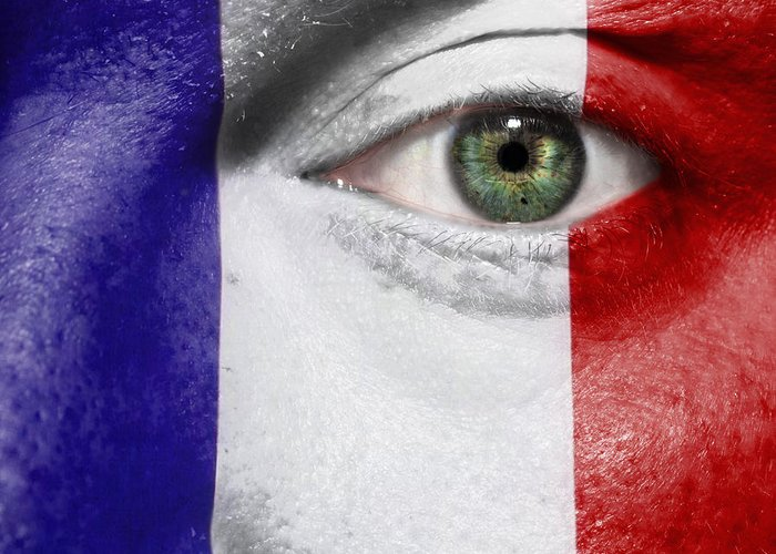 2012 Greeting Card featuring the photograph Go France by Semmick Photo