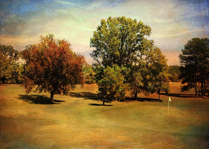 Golf Greeting Card featuring the photograph Golf Course II by Jai Johnson