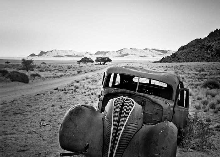 Namibia Greeting Card featuring the photograph Good Old Times by Nina Papiorek