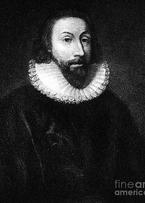 John Winthrop Greeting Card featuring the photograph Governer John Winthrop by Extrospection Art
