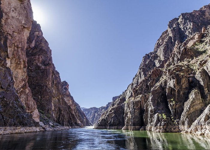 Colorado River Greeting Card featuring the photograph Grand Canyon Gorge by Steve Williams