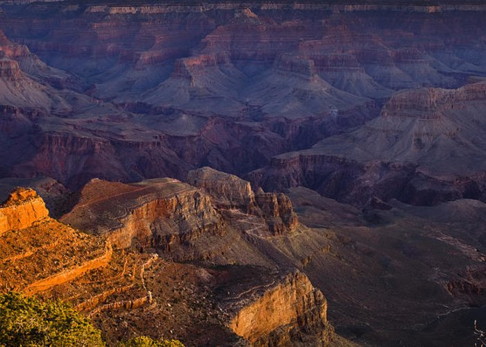 National Park Greeting Card featuring the photograph Grand Canyon Panorama by Andrew Soundarajan