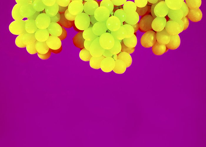 Grape Greeting Card featuring the photograph Grapes by Johnny Greig