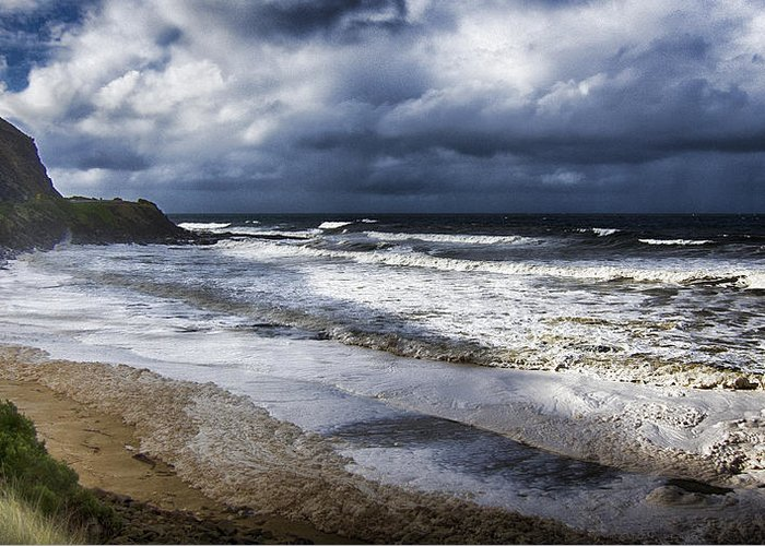 Sea Greeting Card featuring the photograph Great Ocean Road V11 by Douglas Barnard