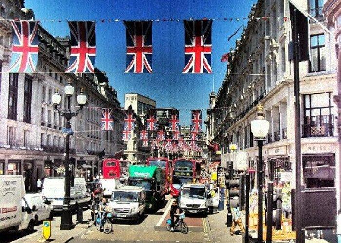 England Greeting Card featuring the photograph #greatbritin #jubile #britin #england by Abdelrahman Alawwad