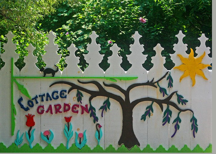 Cottage Garden Greeting Card featuring the photograph Grimsby Beach 7 by Cyryn Fyrcyd