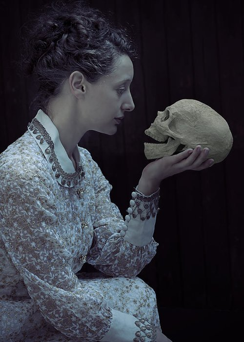 Female Greeting Card featuring the photograph Hamlet by Joana Kruse