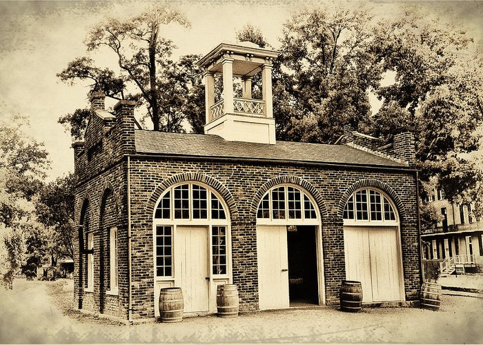 Harpers Ferry Armory Greeting Card featuring the photograph Harpers Ferry Armory by Bill Cannon