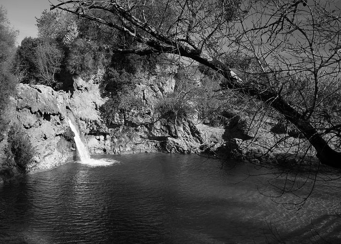 Jezcself Greeting Card featuring the photograph Hidden Falls by Jez C Self
