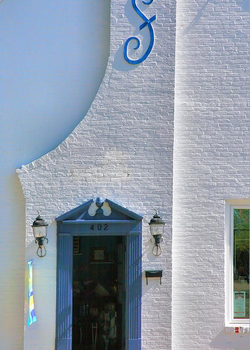 Home Greeting Card featuring the photograph Historic House I by Steven Ainsworth