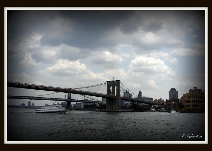 New York Greeting Card featuring the photograph Icon by Priscilla Richardson