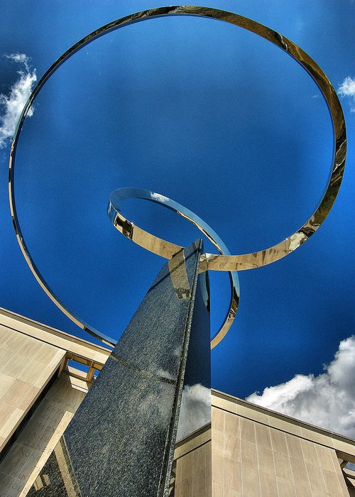 Infinity Greeting Card featuring the photograph Infinity Take One by Steven Ainsworth