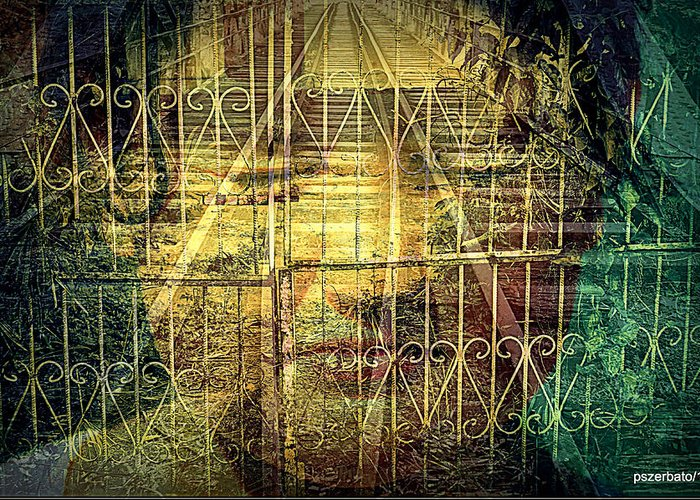 Fears Greeting Card featuring the digital art Insurmountable Barriers And Illusory Of Our Minds by Paulo Zerbato