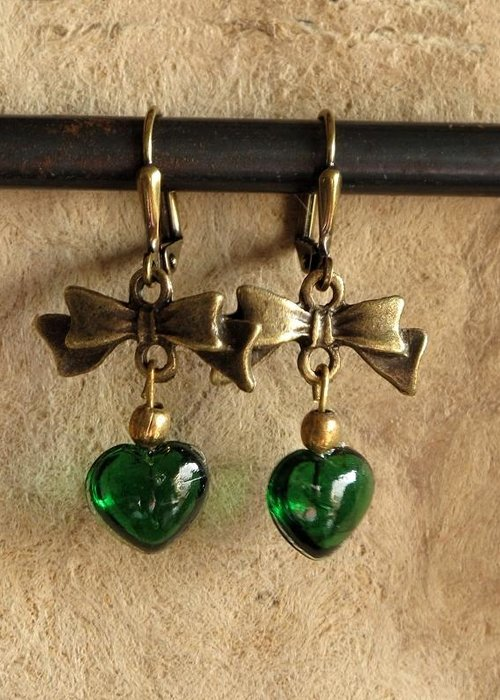 Jewelry Greeting Card featuring the jewelry Irish Hearts by Jan Brieger-Scranton