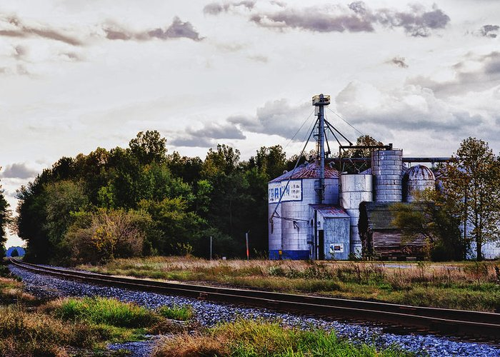 Grain Mill Greeting Card featuring the photograph It's Graining by Kelly Reber