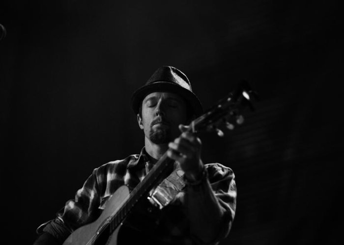 Greeting Card featuring the photograph Jason Mraz by Ty Helbach