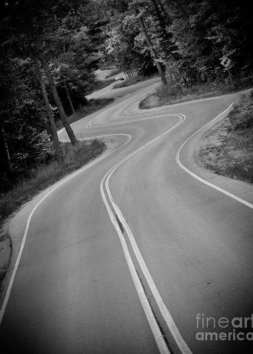 Door County Greeting Card featuring the photograph Jensen's Road by Ever-Curious Photography