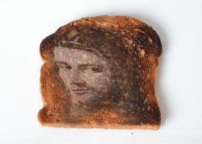 Toast Greeting Card featuring the photograph Jesus Toast by Photo Researchers, Inc.