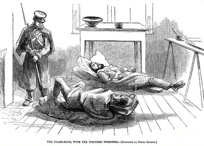 1859 Greeting Card featuring the photograph John Browns Raid, 1859 by Granger