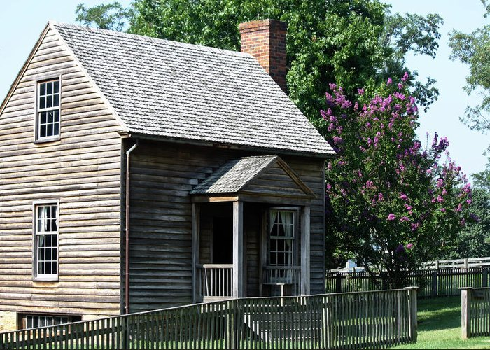 Appomattox Greeting Card featuring the photograph Jones Law Office Appomattox Court House Virginia by Teresa Mucha