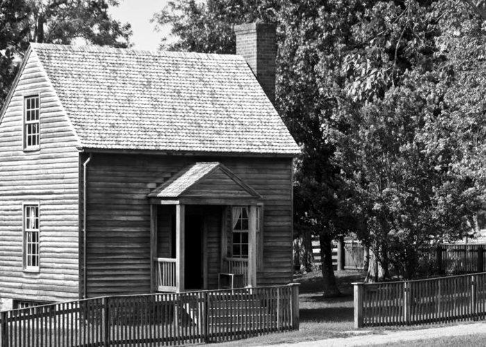 Appomattox Greeting Card featuring the photograph Jones Law Office Appomattox Virginia by Teresa Mucha