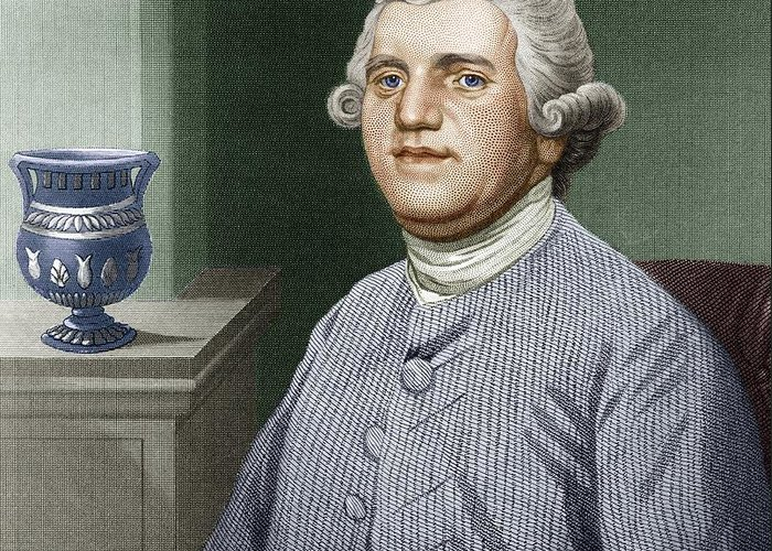 Josiah Wedgwood Greeting Card featuring the photograph Josiah Wedgwood, British Industrialist by Sheila Terry
