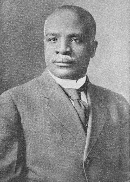 Kelly Miller Greeting Card featuring the photograph Kelly Miller, Us Mathematician by Schomburg Center For Research In Black Culturenew York Public Library