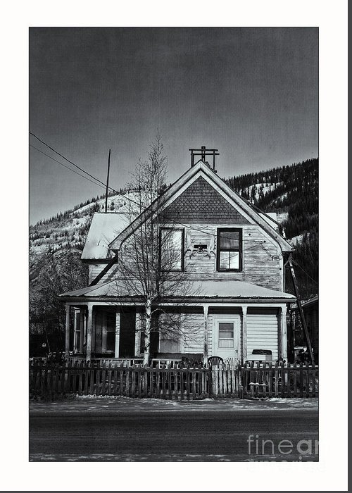 Charming Greeting Card featuring the photograph King Street by Priska Wettstein