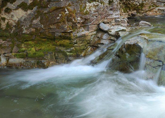 Kirwin Greeting Card featuring the photograph Kirwin Creek by Amy Gerber