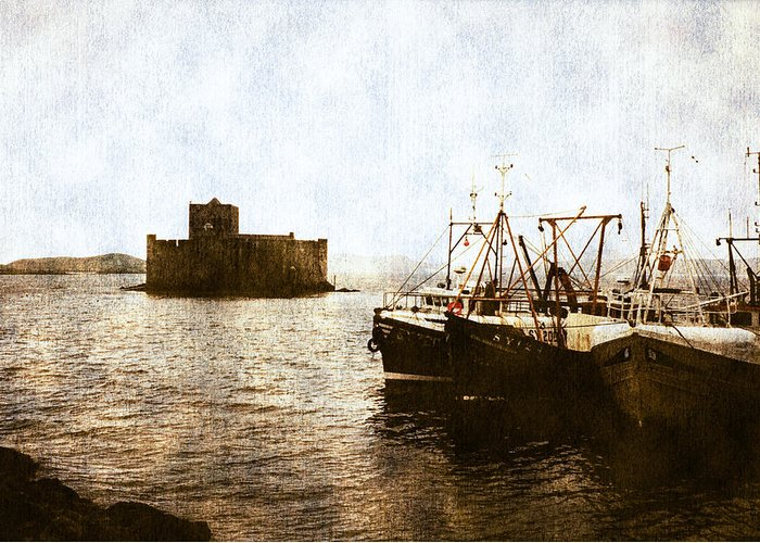 Scottish Castle Greeting Card featuring the photograph Kisimul Castle Scotland by Jasna Buncic