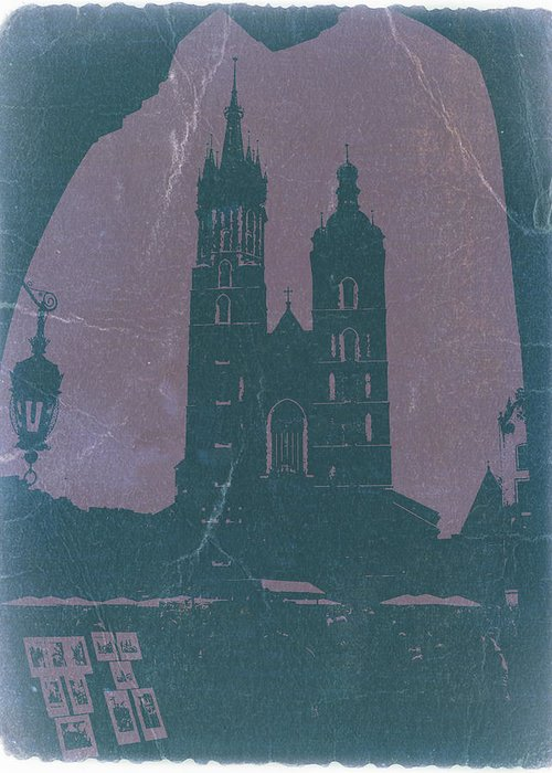 Old Krakow Greeting Cards