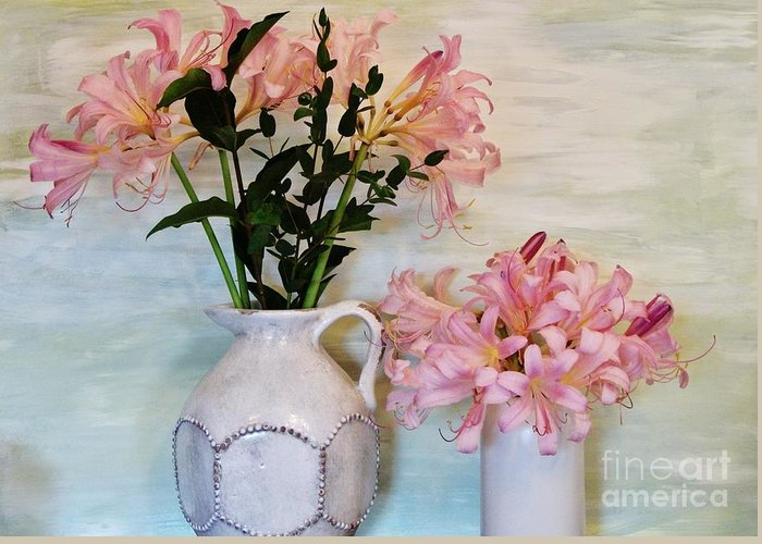 Photo Greeting Card featuring the photograph Last Of My Lilies by Marsha Heiken