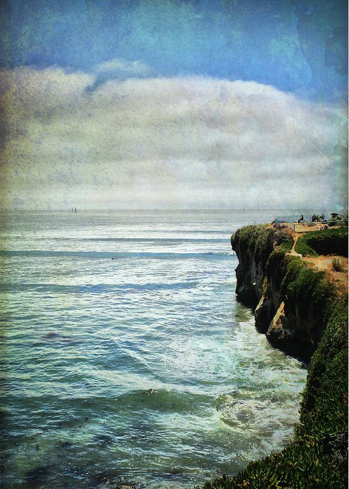 Landscapes Greeting Card featuring the photograph Life Is Bigger by Laurie Search