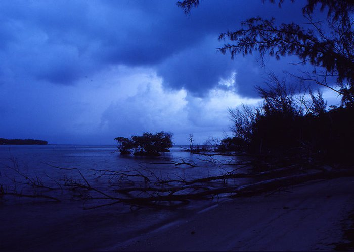 First Light Greeting Card featuring the photograph Lifting Storm by Bob Whitt