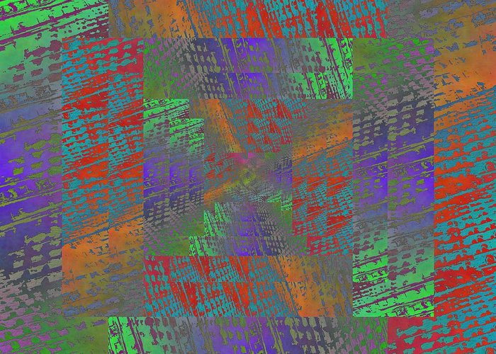 Abstract Greeting Card featuring the digital art Listen To What I Have To Say by Tim Allen