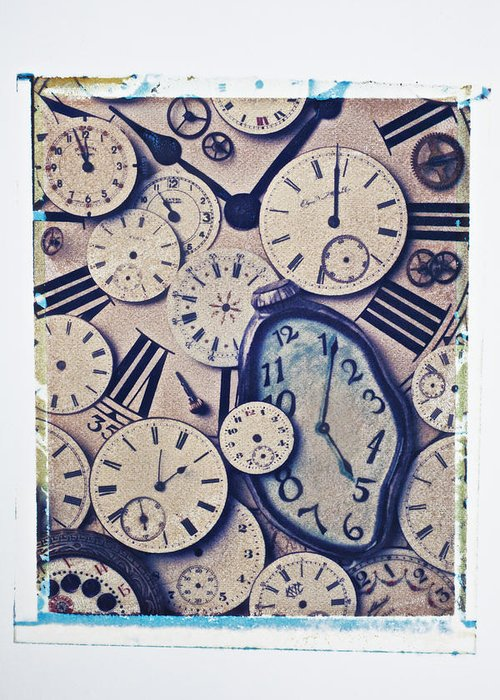 Time Greeting Card featuring the photograph Lost Time by Garry Gay