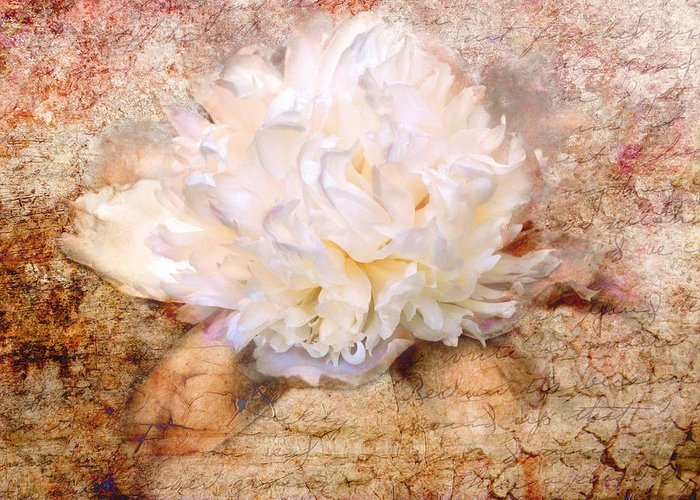 Antique Greeting Card featuring the photograph Love Letter IIi by Jai Johnson