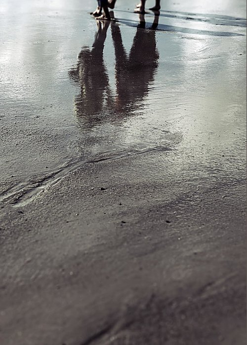 People Greeting Card featuring the photograph Low Tide by Joana Kruse