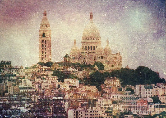 Cathedral Greeting Card featuring the photograph Majestic Haze by Andrew Paranavitana