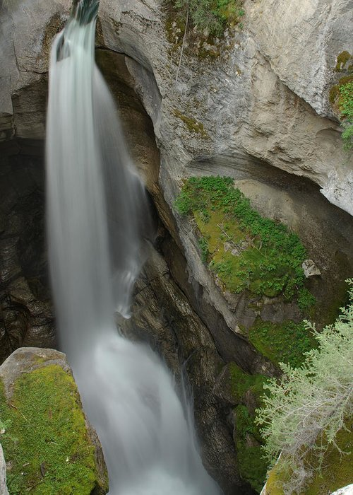 Maligne Canyon Greeting Card featuring the photograph Maligne Canyon 2 by Robert Caddy